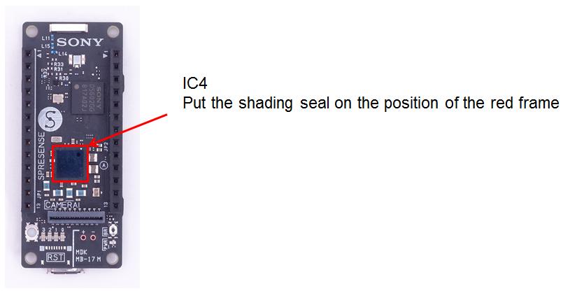HW shading seal E